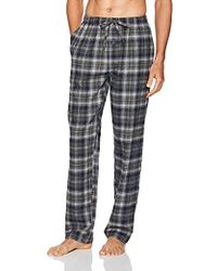 Ben Sherman Flannel Lounge Pant - Gray
