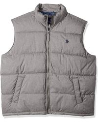 U.S. POLO ASSN. Basic Vest - Gray