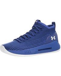 b651d667261 Under Armour Men s Ua Heat Seeker Basketball Shoes in Blue for Men ...
