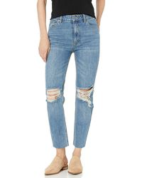 RVCA Piper High Rise Tapered Jeans Blue 30