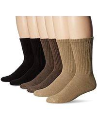 Dockers - Basic Cushion Crew Socks, 6 Pair - Lyst