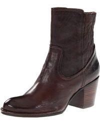 Frye - Lucinda Scrunch Short Boot - Lyst