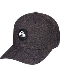 Quiksilver SUPER UNLEADED HAT Baseball Cap - Grau