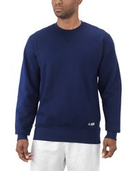Russell Athletic Pro10 Heritage Inspired Heavyweight Sweatshirt - Blue