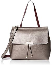 2504fbf432 Lyst - Dooney   Bourke Varsity Ruby Bag in Natural