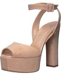 Giuseppe Zanotti I700055 Heeled Sandal - Natural