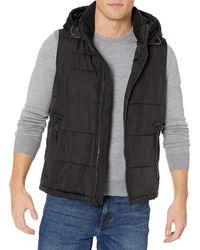 Tommy Hilfiger Hooded Puffer Vest - Black