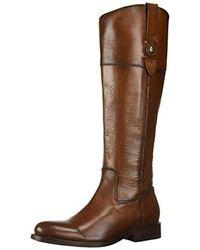 Frye Jayden Button Tall Knee High Boot - Brown