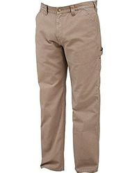 13f88ec6d28d65 Lyst - Dickies Relaxed Fit Straight-leg Duck Carpenter Jean, Slate ...
