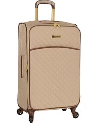 """Anne Klein 21"""" Expandable Softside Spinner Carryon Luggage - Multicolor"""