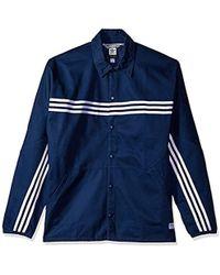 e412a833e adidas Originals Skateboarding Marble Blackbird Packable Jacket in ...