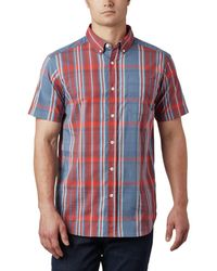 Columbia Rapid Rivers Ii Short Sleeve Shirt - Red