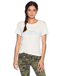 598e5eb08291 Lyst - Converse Mermaid Babe Femme Women s T-shirt in Black