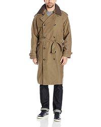 London Fog - Iconic Trench Coat, British Khaki, 46 Regular - Lyst