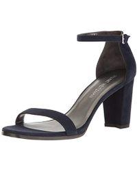 Stuart Weitzman Nearlynude Sandals - Blue