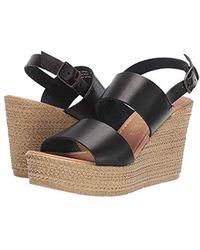 95d63970d5 Seychelles Interrelated Wedge Sandal in Black - Lyst