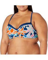 Skechers S Summer Camo Swimsuit Separates - Blue