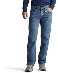 Lee Jeans Regular Fit Straight Leg Jean - Blue