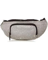 Vince Camuto Womens Lev Belt Bag Convertible Clutch - Metallic
