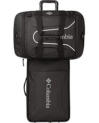Columbia Carry-on Rolling And Spinner Luggage - Black
