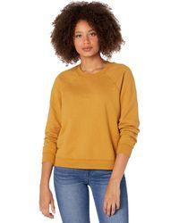 AG Jeans Jadyn Vintage Fit Crewneck Sweatshirt - Orange