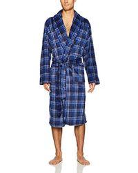 Jockey - Micro Sueded Robe - Lyst