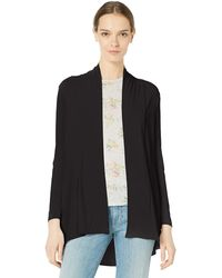 Vince Camuto Open Front Cardigan - Black