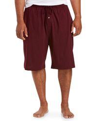Amazon Essentials Knit Pajama Short Shorts - Red