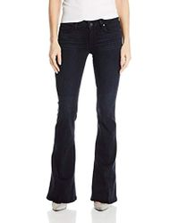 PAIGE - Lou Flare Jeans-leighton - Lyst