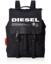 DIESEL Thisbagisnotatoy Volpago Back-backpack, Black, Uni