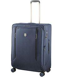 Victorinox Unisex Werks Traveler 6.0 Large Softside Case - Blue