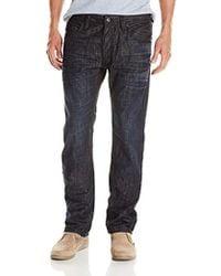 DIESEL Safado Regular Slim Straight-leg Jean 0u801 - Blue