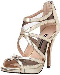 French Connection Delano Dress Sandal - Metallic