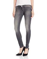Hudson Jeans Krista Skinny In Reckless - Multicolor