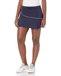 Lacoste Sport Semi Fancy Golf Skirt - Blue