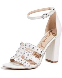 Sam Edelman Yasha Sandals - White