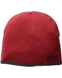 85e8f4d2404 Lyst - BOSS Green Ciny Beanie Hat Black in Black for Men