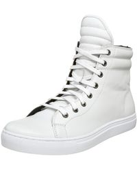 Kenneth Cole Reaction City Vision High Top Sport - White