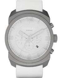 DIESEL - Dz1450 Advanced White Watch - Lyst