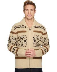 Pendleton Original Westerley Wool Sweater - Brown