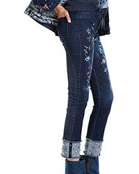 Desigual Denim_pearl - Blue