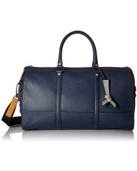Ted Baker - Coloured Leather Hold All - Lyst