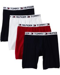 Tommy Hilfiger 4 Pack Boxer Brief - Multicolor