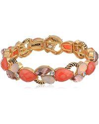 Napier Multi Stone Stretch Bracelet, 0 - Multicolor