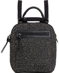 The Sak Loyola Crochet Convertible Small Backpack - Black