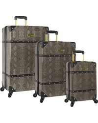 Vince Camuto 3 Piece Hardside Spinner Set-suitcase - Gray