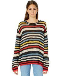 Volcom Bowrain Sweater Plus Size - Multicolor