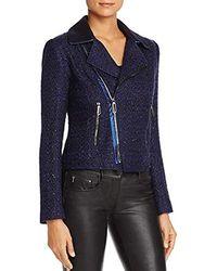 T Tahari - Boucle Crystal Jacket - Lyst