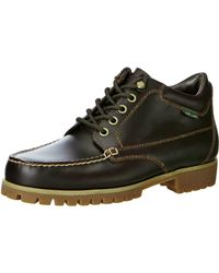 Eastland Brooklyn Moc Toe Boot - Black