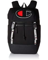 Champion Top Load Backpack - Black